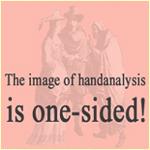 Het imago van de handanalyse is éénzijdig.