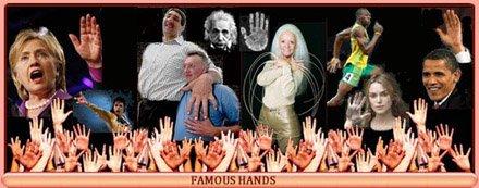 Famous hands!