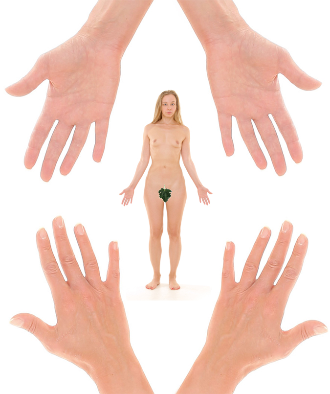 Sexual dimorphism: finger length variations in males vs. females!