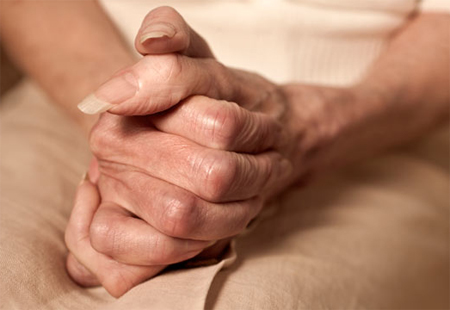 Cold, clammy hands can represent a clue for a mental disorder, e.g. Social Phobia (Social Anxiety Disorder).