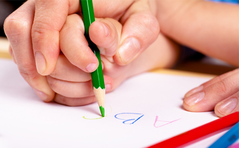Poor handwriting can represent a clue for a mental disorder, e.g. specific learning disorder with impairment in written expression.