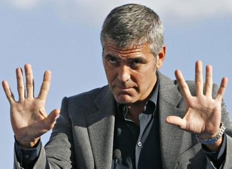Finger length predicts penis length - what do George Clooney's hands point out?