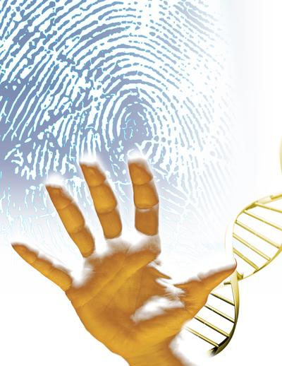Fingerprints & DNA: health, diseases, syndromes & other medical problems.
