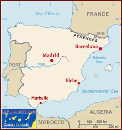 Palmistry in Spain