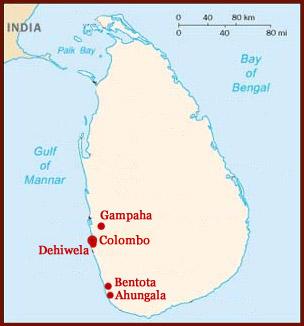 Hand reading network in Sri Lanka: map!