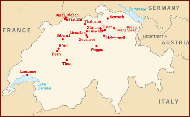 Hand reading network in Switzerland!