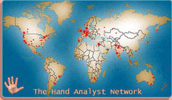 Global hand reading network.