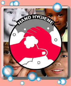 Hands on hand hygiene.