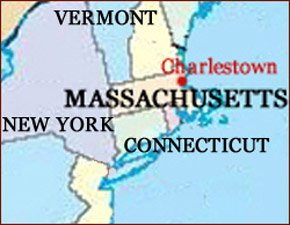 Hand reading network in the state of Massachusetts (US): map!