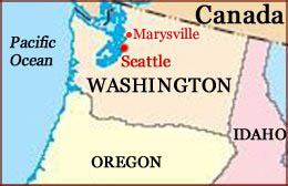 Hand reading network in the state of Washington (US): map!