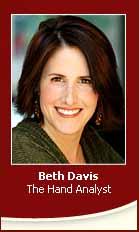 Handanalyst Beth Davis - A Career in Palmistry?