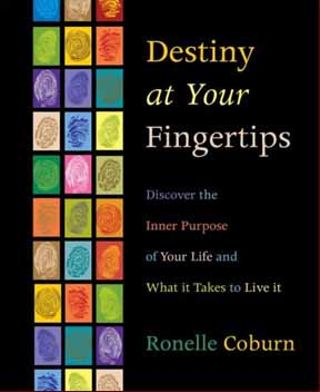Ronelle Coburn presents her book: 'Destiny at Your Fingertips'!
