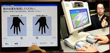 Japan fingerprint checks