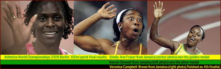 Female sprinters from Jamaica have the long ring finger!