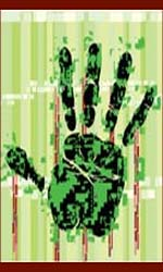 Biometric palm reading