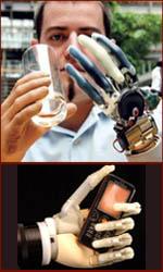 Bionic hand technologies.