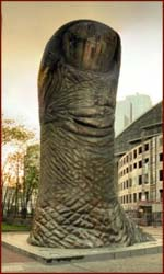 The thumb (le pouce) by César, La Defense - Paris.