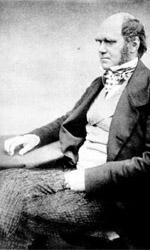 Charles Darwin (1858).