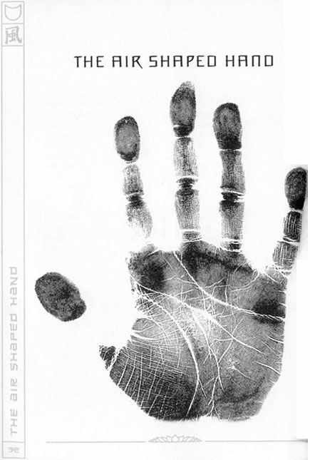 5 Element chirology: the air shaped hand.
