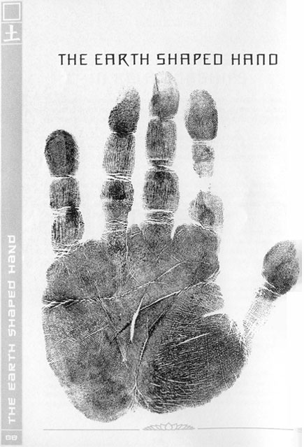 5 Element chirology: the earth shaped hand.