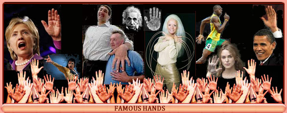 Hands of fame!