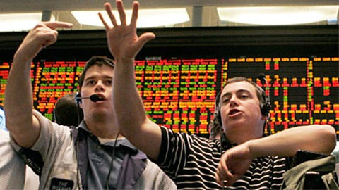 The finger length of stock traders