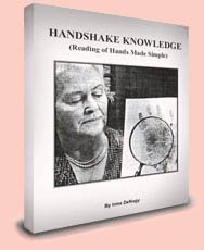 Irma de Nagy: Handshake Knowledge & Scientific Hand Reading!