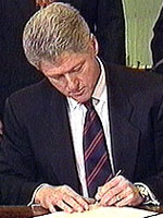 Bill Clinton - a LEFT handed US president.