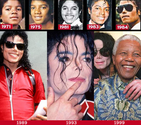 Michael Jackson fingernails from 1989 to 1999!