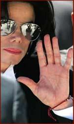 Michael Jackson's left hand.