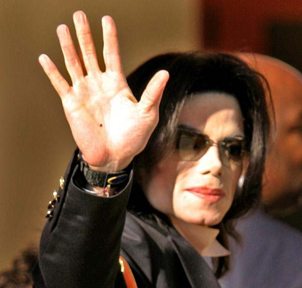 Michael Jackson's hand wave.