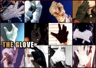 Michael Jackson: the glove!