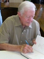 Jimmy Carter - a RIGHT handed US president.