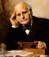Sir Francis Galton.