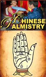 Traditional Chinese palmistry.