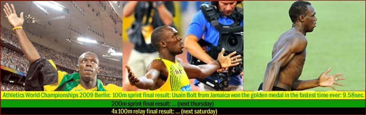 Jamaican sprinter Usain Bolt has the long ring finger!