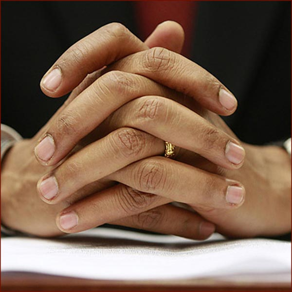 US president Barack Obama: fingernails photo
