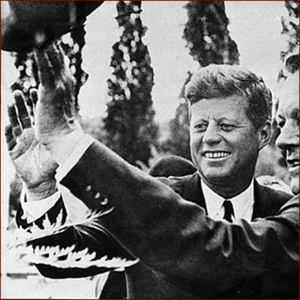 John F Kennedy Jr Palm Prints President-john-f-kennedy-right-hand-wave