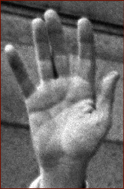 Former US president Richard Nixon: his right hand.