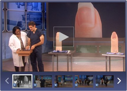Fingernails: Dr. Oz