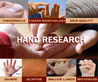 Hand Research & how to read hands: hand reading & hand analysis.