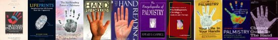 Hand reading books: palmistry, palm reading, hand analysis