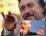 Robert De Niro has a complete simian line in his left hand.