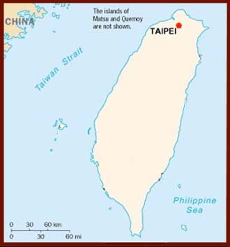 Hand reading network in Taiwan: map!