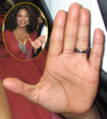 The right hand of Oprah Winfrey.