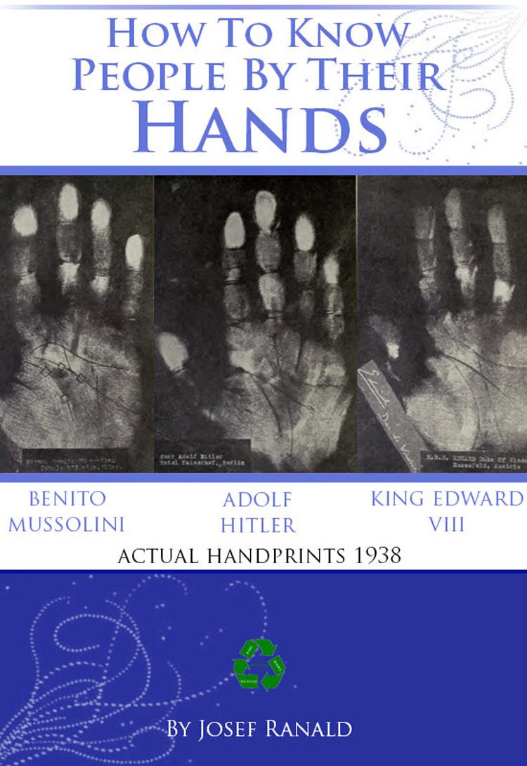 Adolf Hitler hand print.