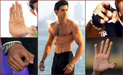 Hrithik Roshan thumbs &#8211; TRIBUTE