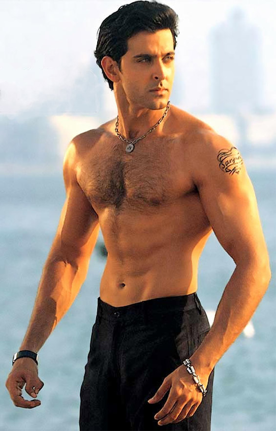 Hrithik Roshan Body Measurements
