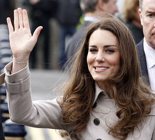 Kate Middleton's right hand.