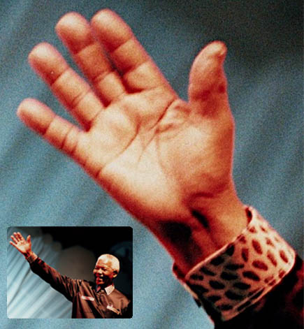 Nelson Mandela's right hand.